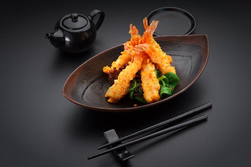 Gamberetto della tempura immagini stock libere da diritti