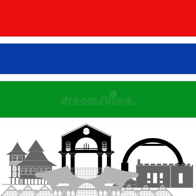 gambia illustration libre de droits
