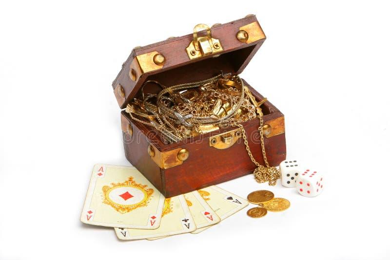 Gamble royalty free stock image