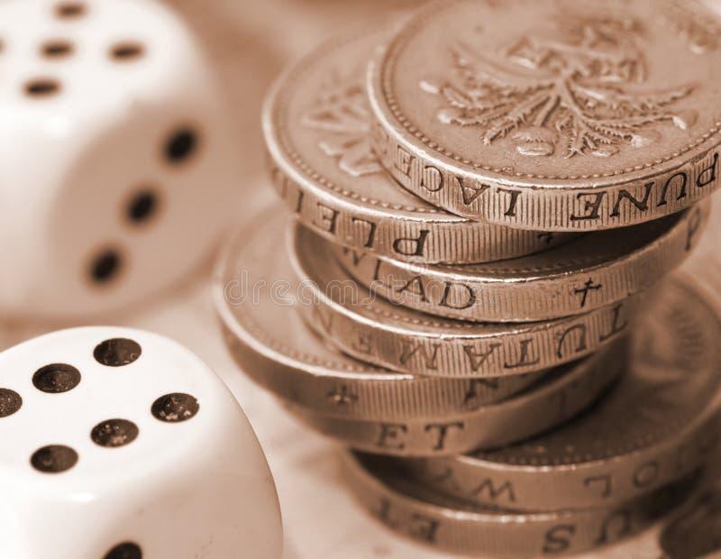 gamble finansowego zdjęcia royalty free