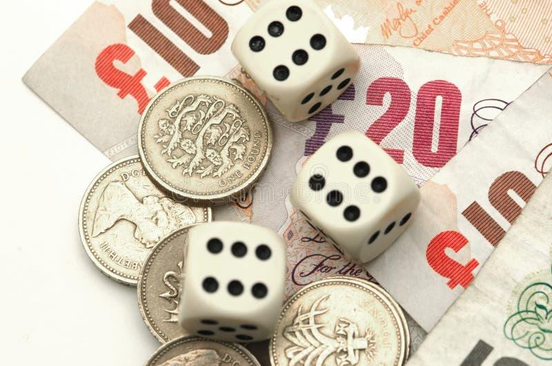gamble finansowego fotografia stock