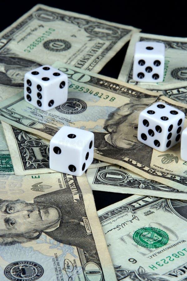 Gambleing fotografia stock