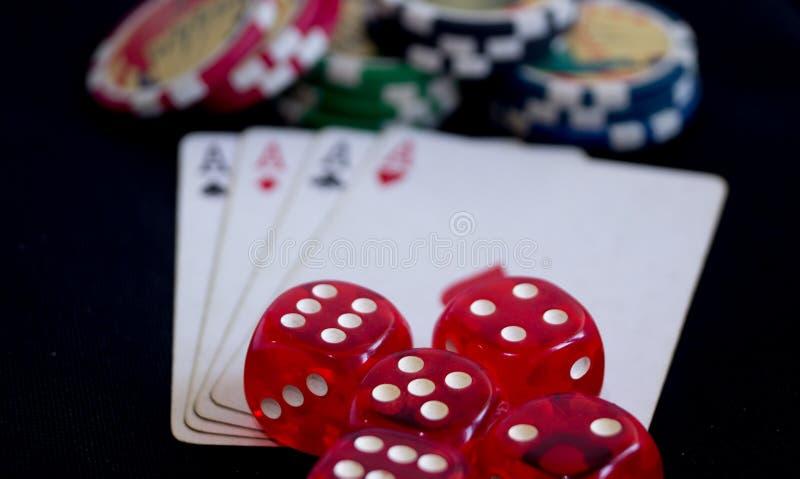 gambling стоковое изображение