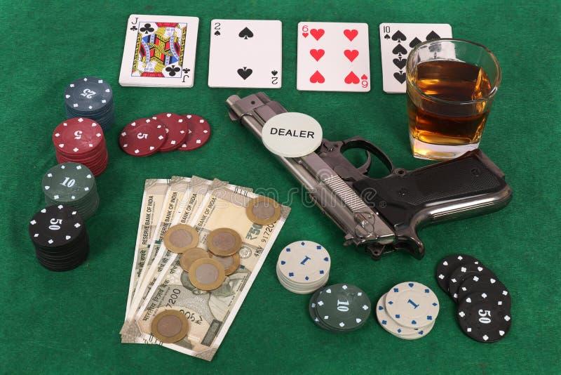 gambling стоковые изображения rf
