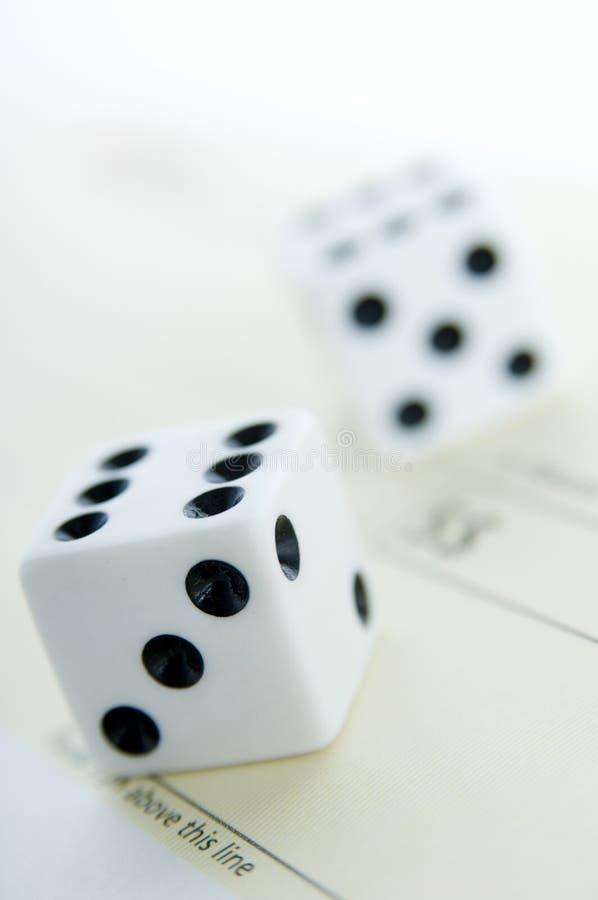 Download Gambling stock image. Image of dice, check, wealthy, gambling - 1812097