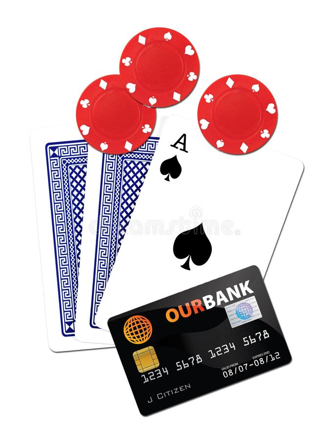 Download Gambling stock photo. Image of pile, banking, hold, four - 22969668