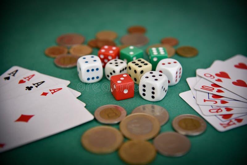 gambling стоковое фото