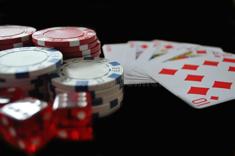 gambling royalty-vrije stock afbeeldingen