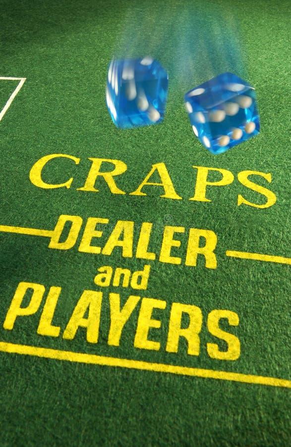 Gambling - Casino - Craps royalty free stock photo