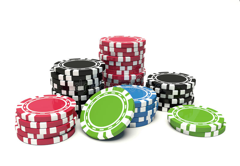 Download Gambling chip stock illustration. Image of design, loss - 11607381