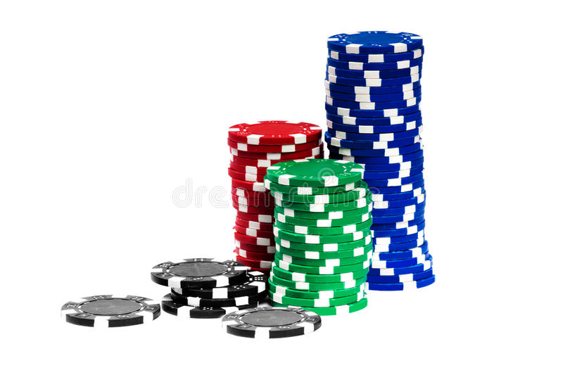 Download Gambling Chips stock photo. Image of close, background - 22190724