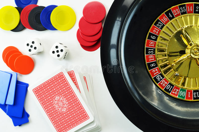 Gambling concept royalty free stock photography