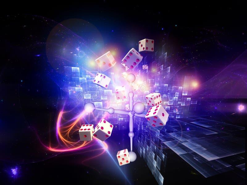 Download Gambling and dice design stock illustration. Image of gambling - 21022278