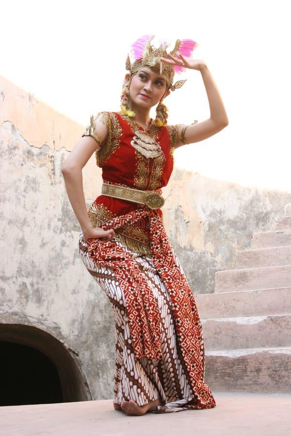 Gambyong taniec zdjęcie royalty free