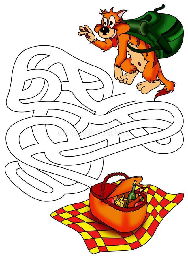 Download Game 13 stock illustration. Image of eating, black, maze - 29105872