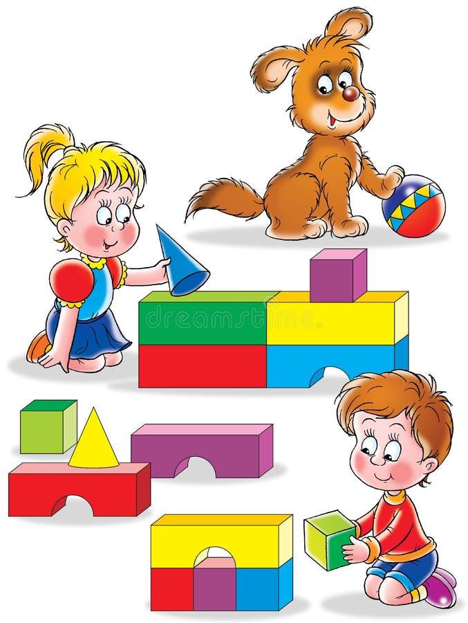 Картинка для детей уголок конструирования
