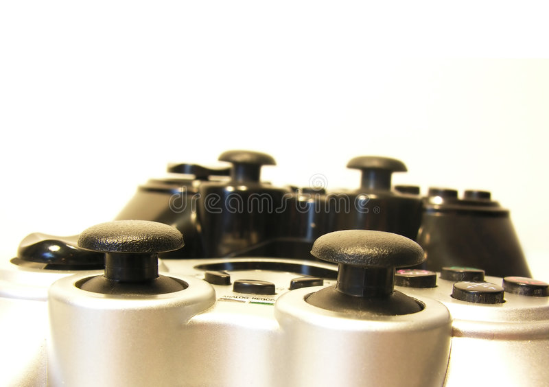 Game on! stock image