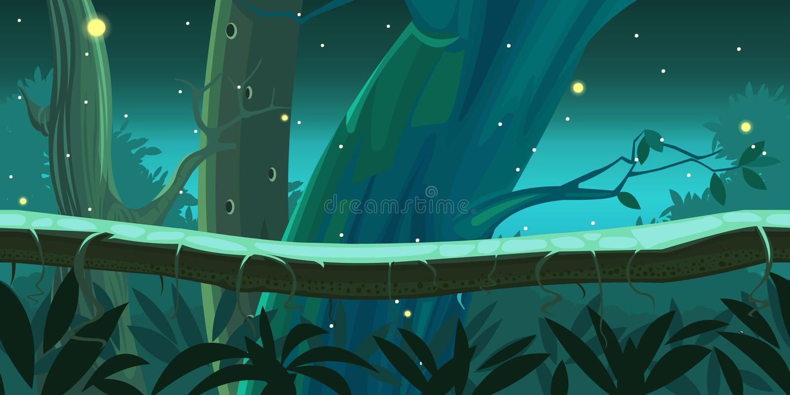 Game backgrounds vector illustration