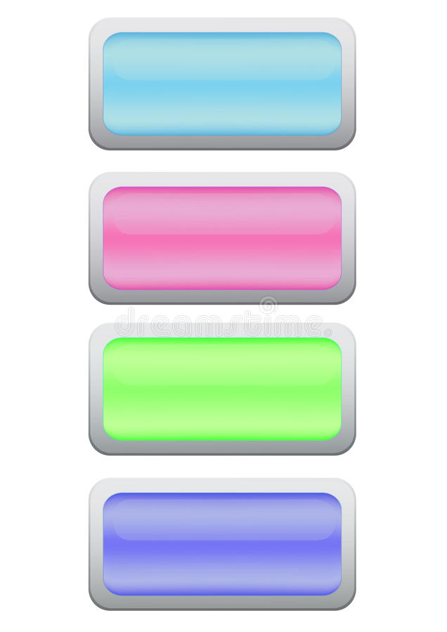 Download Game buttons stock illustration. Illustration of icons - 35276710