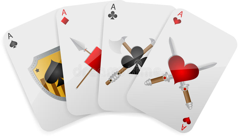 Game card vector illustration