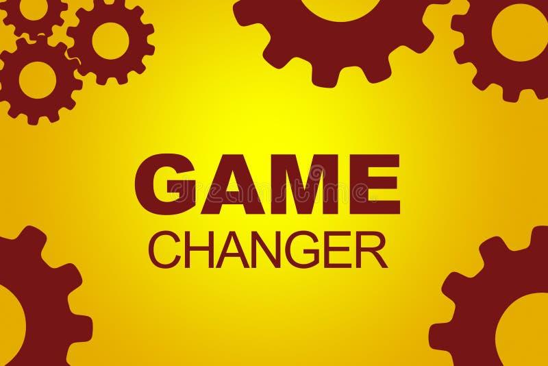 Game Changer concept stock illustration