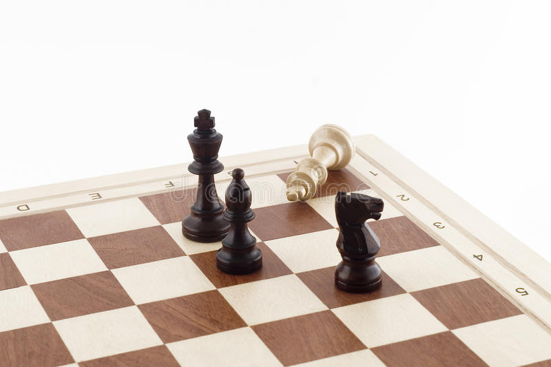 Download Game of chess stock image. Image of play, chess, white - 24647943