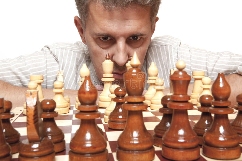 Download Game of chess stock photo. Image of chessboard, battle - 26142298