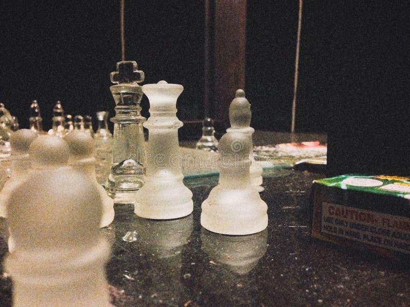 A Game Of Chess stock photos