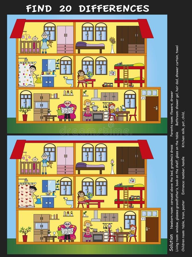 Download Game stock illustration. Illustration of infant, kitchen - 30466002
