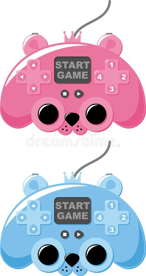 Download Game console stock vector. Image of button, multimedia - 23113770