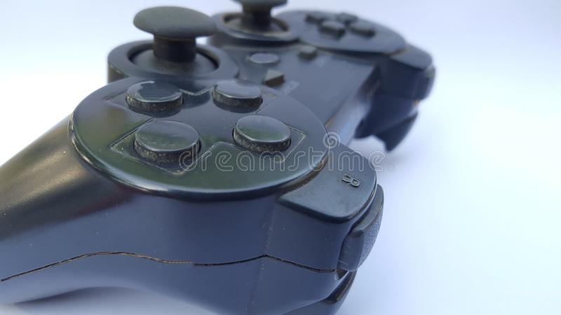 Game controller, equipment to play games for a better gaming experience royalty free stock photo