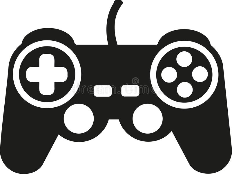 Game controller vector stock illustration