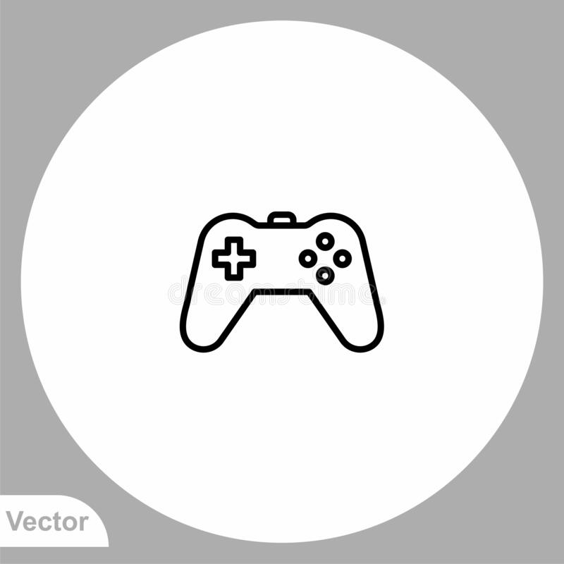 Free Game Controller Vector Icon Sign Symbol Stock Images - 205913504