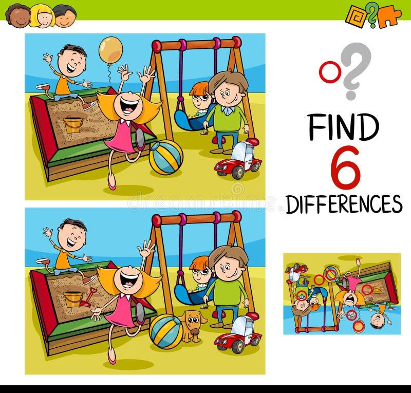 Kids Playground Illustration