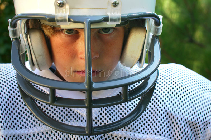 Game Face stock image