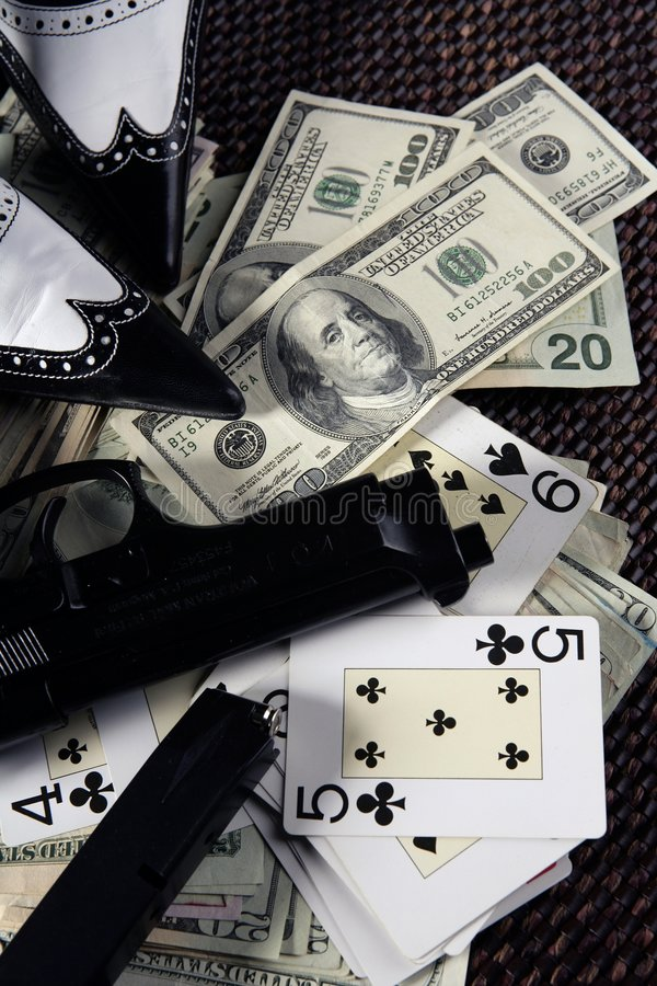 Download Game Guns And Dollars, Clasic Mafia Gangster Still Stock Image - Image: 7904851