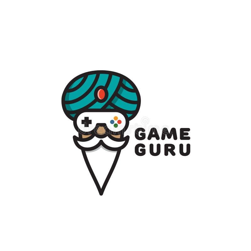 Game Guru - Master Gamer - Video Game Theme Logo - Logotype
