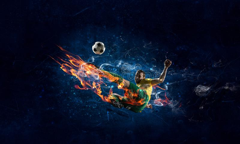 Game hottest moments royalty free stock images