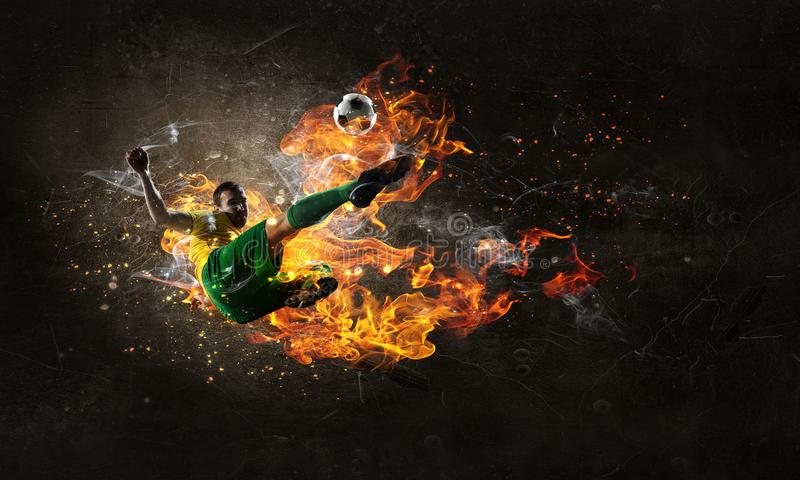 Game hottest moments stock photography