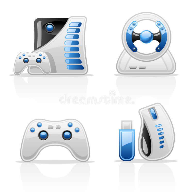 Download Game Icons Royalty Free Stock Images - Image: 22763169