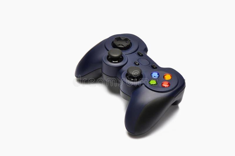 Game joystick. On whtie background royalty free stock photos