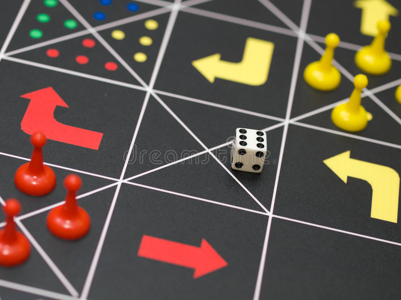 Game of Life royalty free stock images