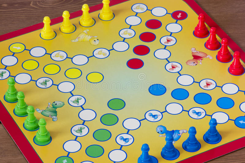 Game of Ludo royalty free stock images