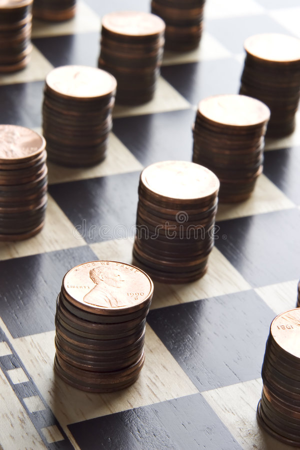 Game of making money stock photos