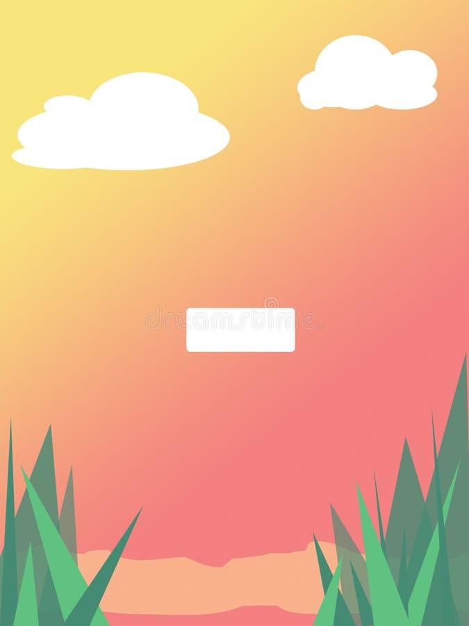 Game menu. royalty free illustration