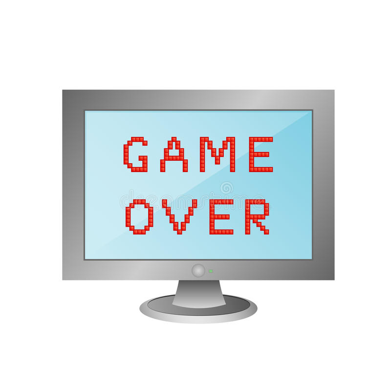 Free Game Over Stock Photography - 16854712