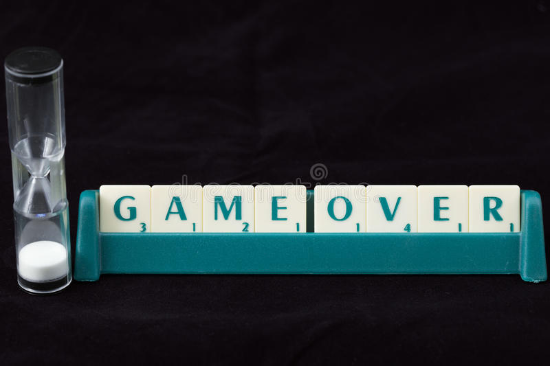 Download Game over stock image. Image of vocal, texture, clock - 20993709
