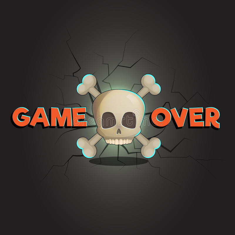 Free Game Over Abstract Vector Game And Web Background Royalty Free Stock Photos - 89743848