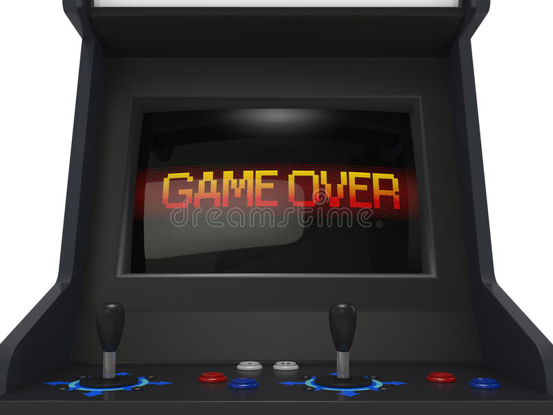 Game Over vector illustration