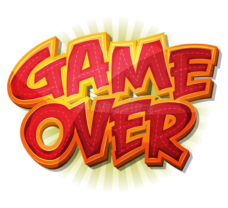 Free Game Over Icon For Ui Game Stock Images - 46996494